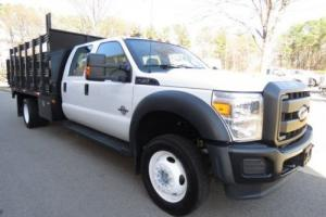 2016 Ford F-450 XL TOMMY LIFT GATE CREW CAB LOW MILES