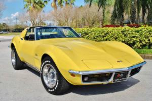 1969 Chevrolet Corvette Numbers Matching 350 V8 T-Tops Simply Stunning!