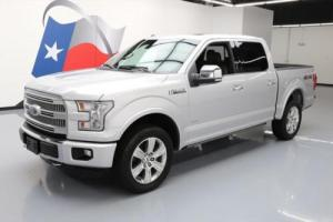 2016 Ford F-150 PLATINUM 4X4 ECOBOOST NAV PANO ROOF