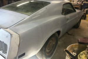 1970 Ford Mustang Mach 1 - EXCELLENT PROJECT - VERY SOLID