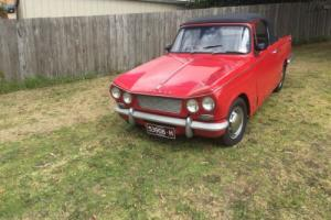 triumph vitesse car for Sale