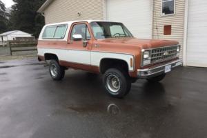 Chevrolet: Blazer K5 Blazer