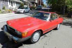 1984 Mercedes-Benz 300-Series 380SL Photo