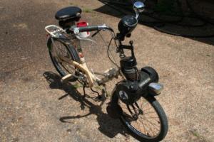 VELOSOLEX PEUGEOT MOTORIZED BICYCLE  RUNS GOOD STARTS EASILY RIDES AND STOPS Photo