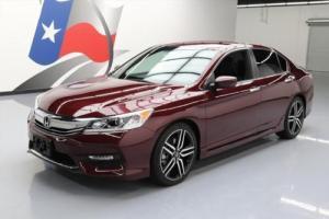 2017 Honda Accord SPORT SEDAN CVT REARVIEW CAM