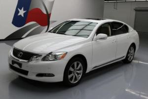 2010 Lexus GS AWD CLIMATE LEATHER SUNROOF NAV