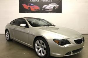 2007 BMW 6-Series 650i Coupe 1-Owner Clean Carfax PRISTINE