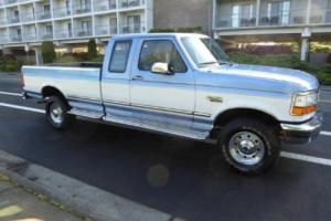 1996 Ford F-250  Supercab 4X4 Low Miles One Owner