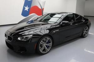 2014 BMW M6 COUPE EXECUTIVE VENT SEATS NAV HUD 20'S