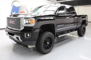 2016 GMC Sierra 2500 HD DENALI 4X4 DIESEL LIFTED NAV