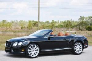 2013 Bentley Continental GT GTC Convertible