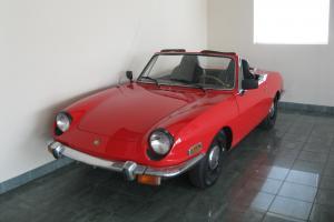 1970 Fiat 850 Spider Convertible 2-Door | eBay