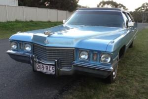 1971 Cadillac Fleetwood Limousine Limo Series 75 Special LTD Photo