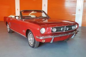 Ford Mustang Convertible 1966 - Manual - No Reserve ... Camaro Chev Dodge Muscle Photo