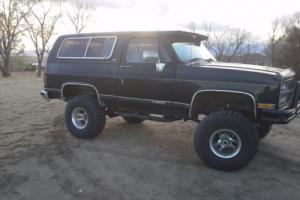 1989 Chevrolet Blazer k5 Photo