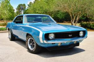 1969 Chevrolet Camaro SS Real Deal X11 Code 396 V8 4-Speed PS PB Tach