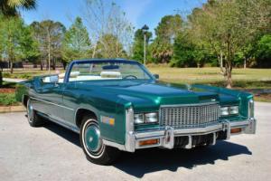 1976 Cadillac Eldorado Convertible 30,515 Actual Miles! Very Rare!