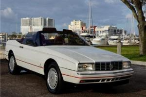 1987 Cadillac Allante Convertible Photo