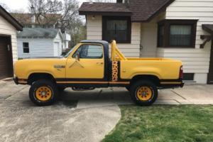 1980 Dodge Power Wagon Photo