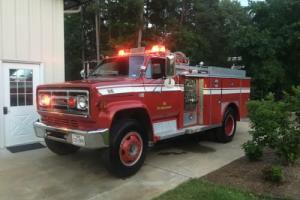 1980 GMC C70 Fire Truck Photo