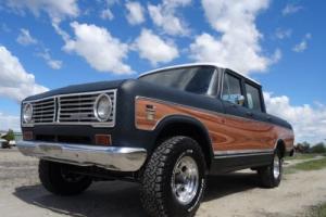 1973 International Harvester Wagon Master