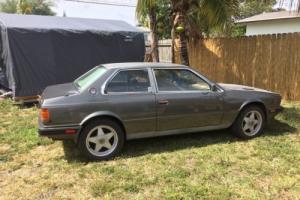 1984 Maserati bturbo