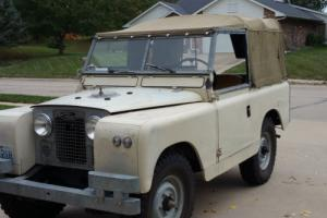 1966 Land Rover series iia for Sale