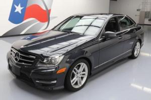 2014 Mercedes-Benz C-Class C250 SPORT SEDAN TURBO SUNROOF