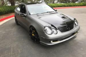 2003 Mercedes-Benz C-Class Coupe hatchback