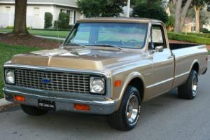 1972 Chevrolet C-10 PICKUP - TWO OWNER - 57K MILES