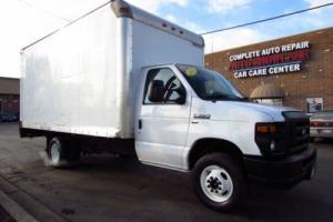 2012 Ford E-Series Van 16' Box w/ Hydraulic Lift
