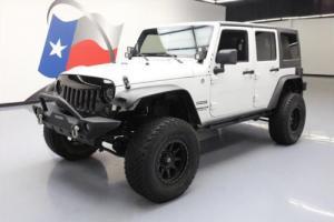 2012 Jeep Wrangler UNLTD SPORT HARD TOP 4X4 LIFT
