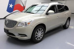 2017 Buick Enclave LEATHER DUAL SUNROOF REAR CAM