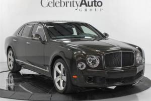 2016 Bentley Mulsanne Speed $397K MSRP