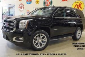 2015 GMC Yukon SLT RWD BACK-UP CAM,HTD/COOL LTH,POLISH 20'S,27K,WE FINANCE