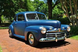 1946 Ford Deluxe Coupe Restomod Must See! Air Conditioning PS PB Leather