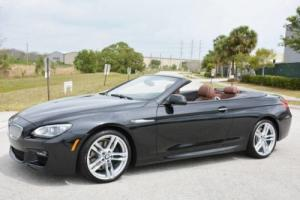 2015 BMW 6-Series 650i M-Sport Convertible