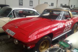 1964 CHEVROLET CORVETTE ROADSTER has historic rally history