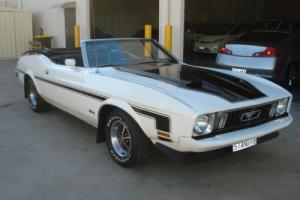 1973 Mustang Mach 1 Tribute Convertible