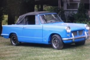 "TRIUMPH HERALD CONVERTIBLE "" 1962 Restored Excellent Condition for Sale"