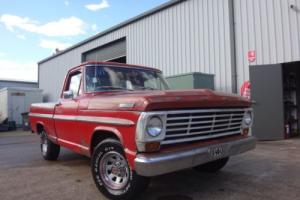 1967 FORD F100 CUSTOME CAB