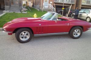 1965 Chevrolet Corvette CONVERTIBLE | eBay