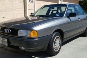 1988 Audi 80 Sedan