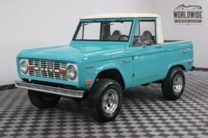 1969 Ford Bronco RESTORED. 4X4. HALF CAB. U14 VIN! RARE!