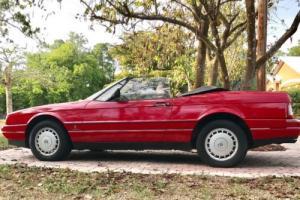 1987 Cadillac Allante Two