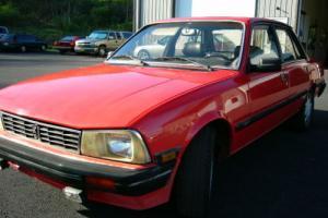 1987 Peugeot 505 Stx Photo