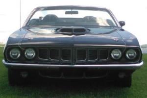 1971 Plymouth Barracuda BARRACUDA