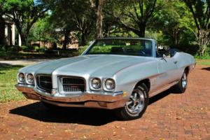 1971 Pontiac Le Mans Sport Convertible Smooth Ride 350 V8 PS PB Buckets