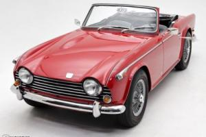 1968 Triumph TR5 PI Roadster Photo