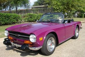 1974 Triumph TR-6 CONV